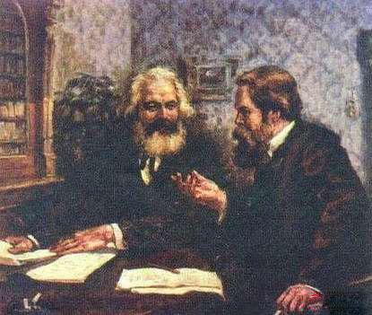 马克思和恩格斯《伟大的友谊》