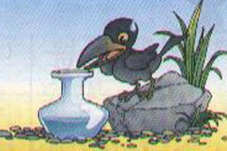 《乌鸦喝水》